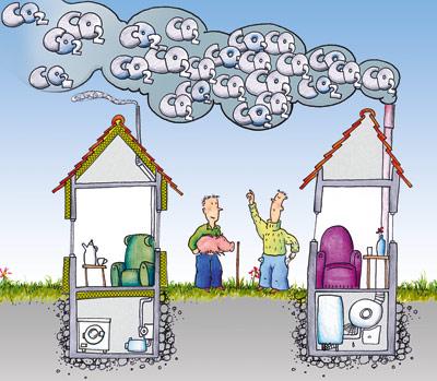Zateplením fasády ušetříte nejen finance, ale iživotní prostředí!